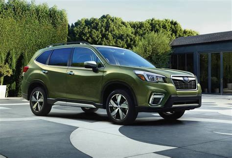 subaru forester 2019 2019 subaru forester unveiled at new york auto show