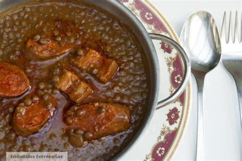 cuisiner des lentilles recette avec chorizo lentilles au chorizo