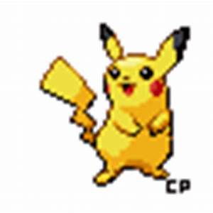 Pikachu Animated Sprite by CheerfulCyanide on DeviantArt