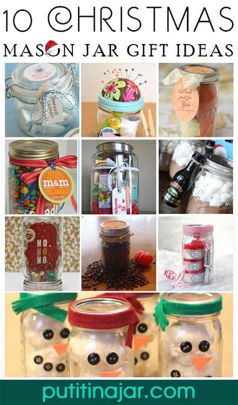 diy mason jar christmas gift craft ideas tutorials
