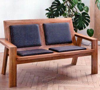 deacons bench plans woodarchivist