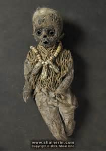 Mummy Art Doll Sculpture