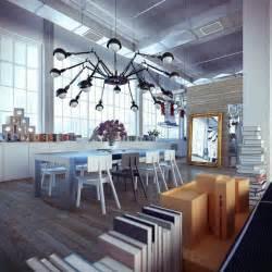 loft design by industrial loft