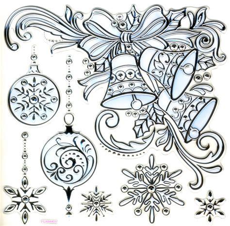 Fensterdeko Weihnachten Silber by Wand Fensterdeko Weihnachts Glocken Silber Gepr 228 Gt