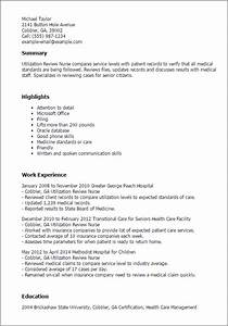 1 utilization review nurse resume templates try them now With review my resume