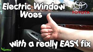 Toyota Landcruiser Electric Window Easy Fix By Vog