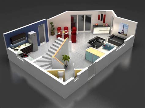 plan de chambre 3d maisons stephane berger modele maison modèle maison lena
