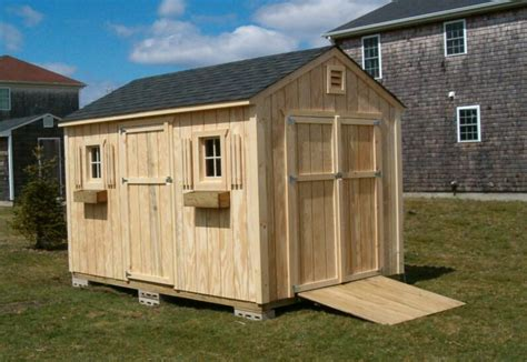 10x20 Saltbox Wood Storage Shed by Storage Shed