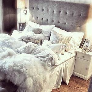 25 best ideas about comfy bed on pinterest bed grey With big white bed pillows