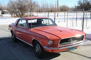 1st gen classic Eastertime Coral 1968 Ford Mustang For Sale - MustangCarPlace