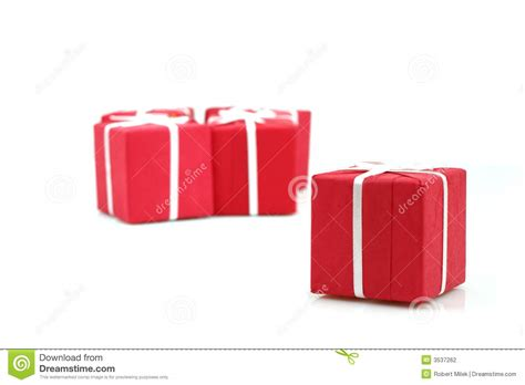 packages of christmas gifts stock photography image 3537262