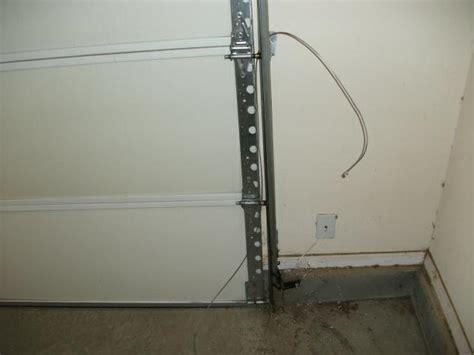 garage door cable replacement broken garage door cable repair anco overhead door