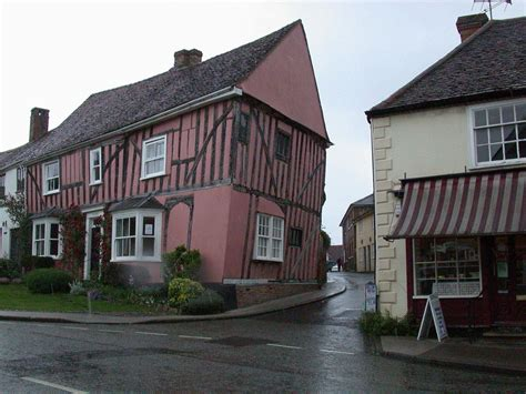Crooked House by Lavenham Crooked Houses Places
