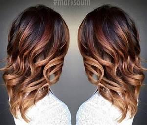 Ombré Hair Cuivré : couleurs laetitia parla coiffure esth tique domicile ~ Melissatoandfro.com Idées de Décoration