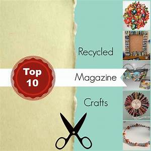 Top 10 Recycled Magazine Crafts | FaveCrafts.com