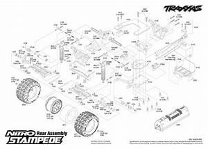 33 Traxxas Stampede 2wd Parts Diagram