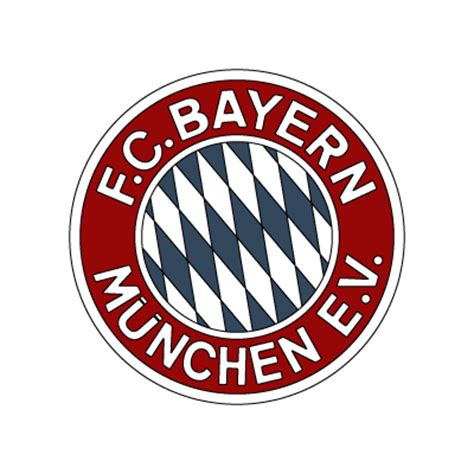 FC Bayern Munchen (early 80's logo) vector logo ...
