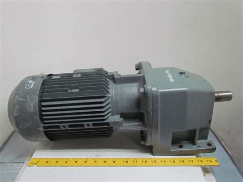 Electric Motor Drive by Nord Sk 100 L 40 4 Hp 3 Kw Electric Gear Drive Motor W
