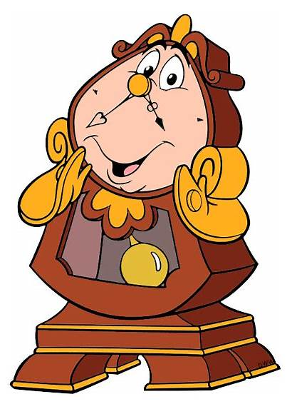 Lumiere Beast Cogsworth Beauty Clipart Characters Clip