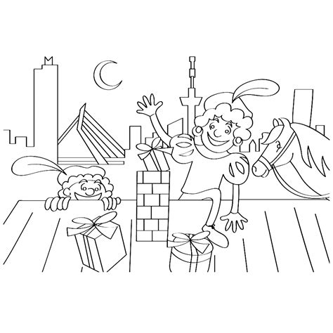 Kleurplaat Sinterklaas Kalender by Sinterklaas Kalender Kleurplaat Krijg Duizenden