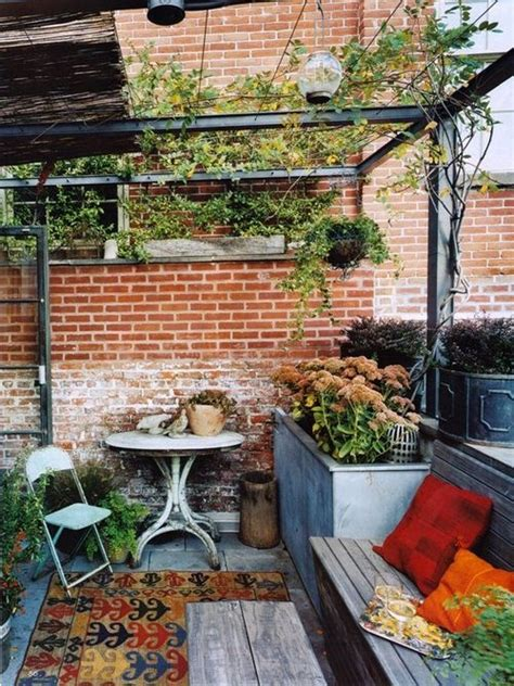 small roof terrace design 33 awesome small terrace design ideas digsdigs