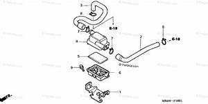 Honda Motorcycle 2003 Oem Parts Diagram For Sub Air