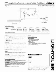 Lighting Systems Lytespread Alpha Wall Mount Lsaw