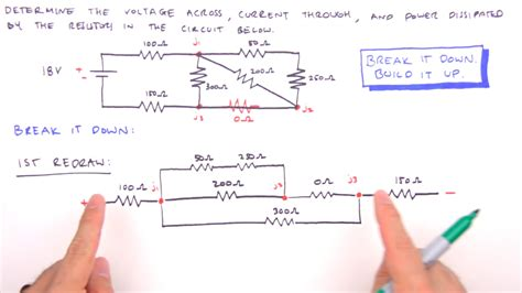 How Solve Any Series Parallel Circuit Problem Youtube