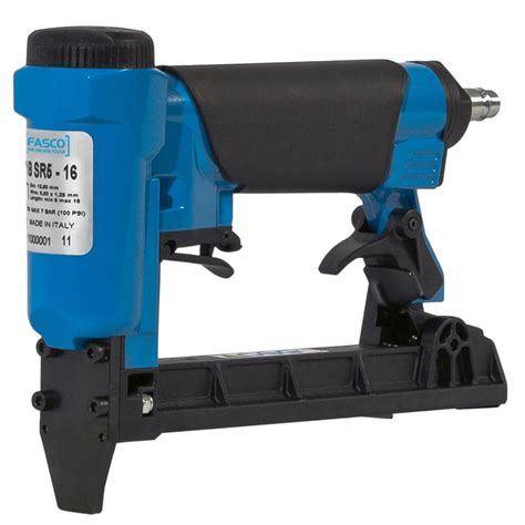 Electric Upholstery Stapler Home Depot by Surebonder Pneumatic Upholstery Stapler With 22