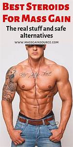 5 Best Steroids For Mass  Use The Right Cycle To Increase Your Size