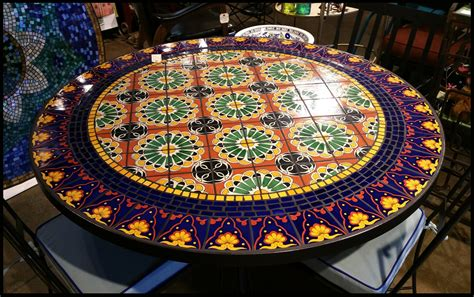 mosaic kitchen table top furthur wholesale mosaic dining tables