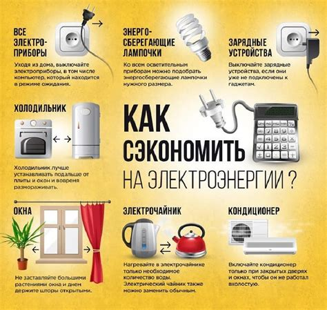 Способы экономиии электроэнергии в быту . Контентплатформа