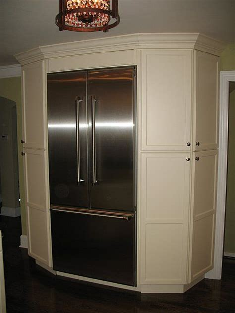 pantry cabinets  refrigerator     great