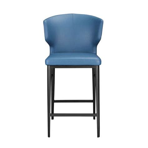 blue counter height 18 to 26 inch bar stools bellacor