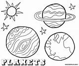 Planet Coloring Pages Planets Print Stars Coloringway Sky sketch template