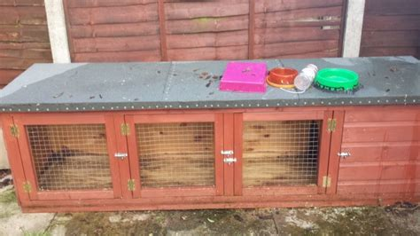 Rabbit Hutch For Sale - 8 ft rabbit hutch for sale sutton coldfield west