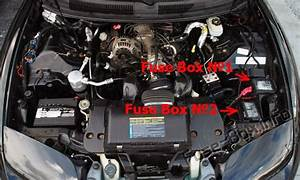 Fuse Box Diagrams  U0026gt  Pontiac Firebird  1992