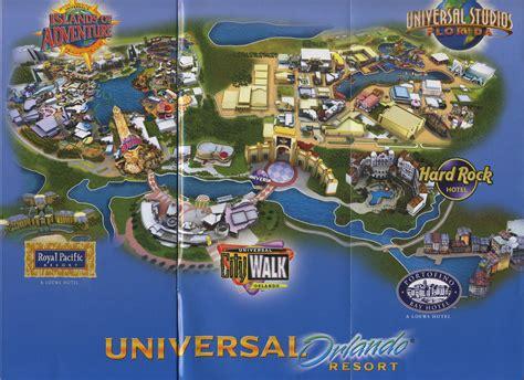 Theme Park Brochures Universal Orlando Resort - Theme Park ...