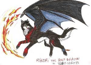 Fire Wolf Dragon