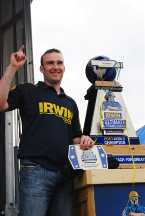 irwin tools crowns ultimate tradesman woodshop news