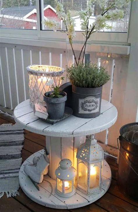 der kleine balkon  weiss  wunderschoene ideen freshouse