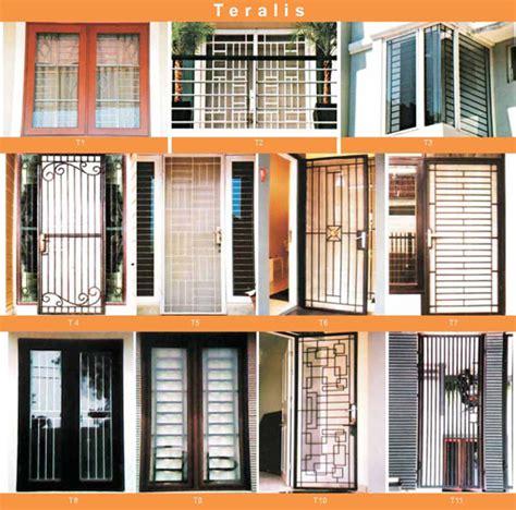 gambar model  type teralis jendela rumah minimalis