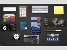 Dashboard in MacOS wieder aktivieren Der Tutonaut