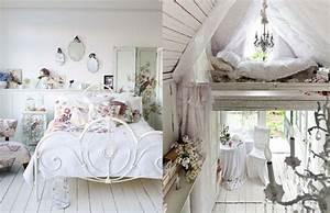 Chambre Shabby Chic : deco chambre shabby chic visuel 3 ~ Preciouscoupons.com Idées de Décoration