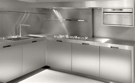 stainless steel kitchen designs cozinhas de a 231 o 5724