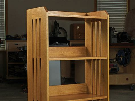 project classic oak bookcase plan woodworking blog