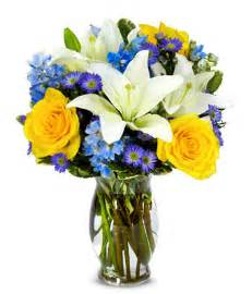 asiatic lilies the bright blue skies bouquet at from you flowers