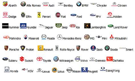 car brands cars