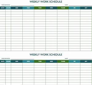 Work Schedule. Daily Work Schedule Template Daily Work ...