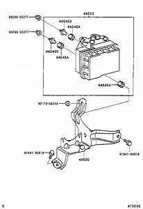Toyota Rav4 Tube  Front Brake  No  8  Brakes  Suspension
